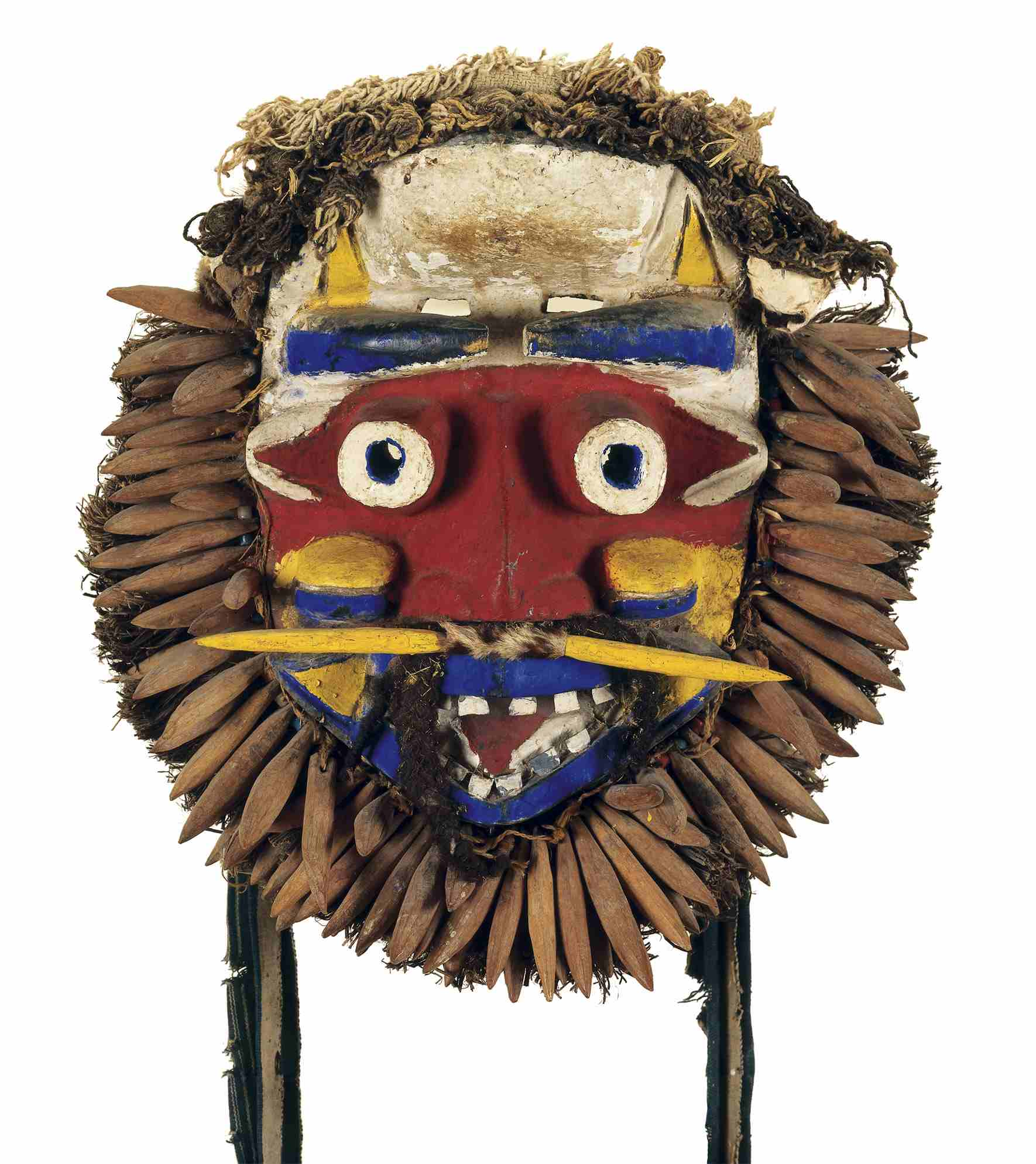 Mask of Wisdom (Gbona Gla). Wè region, Côte d'Ivoire and Liberia. Mid-20th century.  The Baltimore Museum of Art: Gift of Dr. and Mrs. Bernard Berk and Mr. and Mrs. Leonard Whitehouse, BMA 1969.11