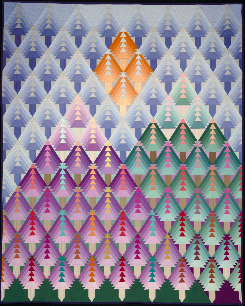Adrien Rothschild. Purple Mountains. 1991. The Baltimore Museum of Art: Gift of the Artist, Baltimore, BMA 1998.360. © Adrien Rothschild