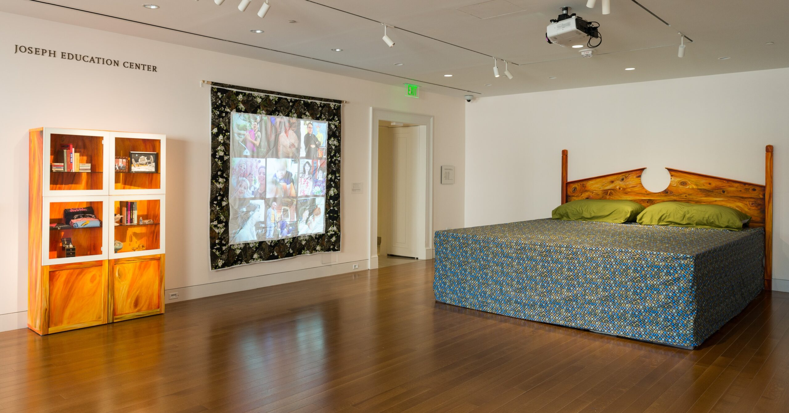 Installation view of Queer Interiors. Photo by Mitro Hood.