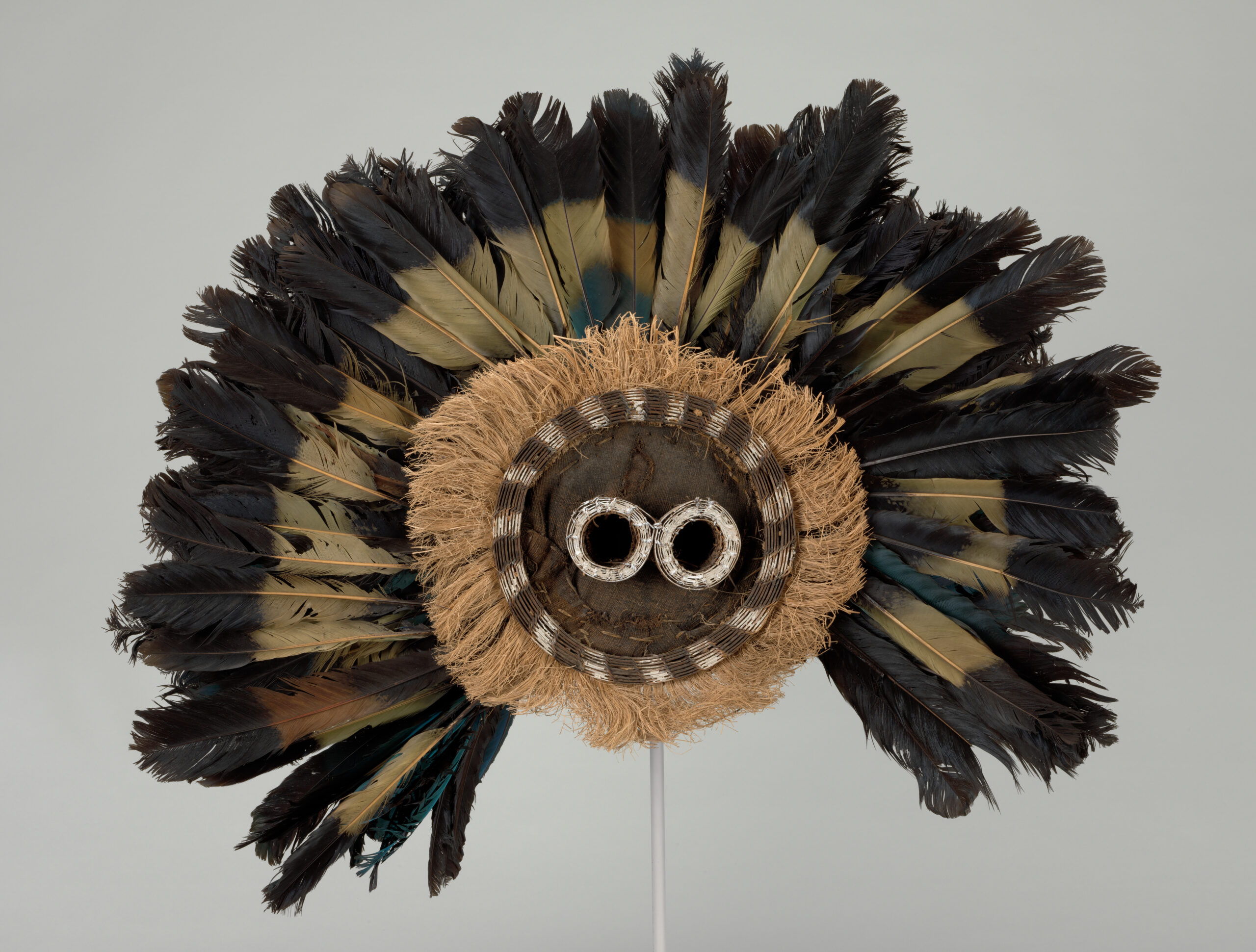 Unidentified Pende artist. Gitenga Mask. Pende region, Democratic Republic of the Congo. Mid-20th century. The Baltimore Museum of Art: Purchased as the gift of Amy Gould and Matthew Polk, Gibson Island, Maryland, BMA 2015.148