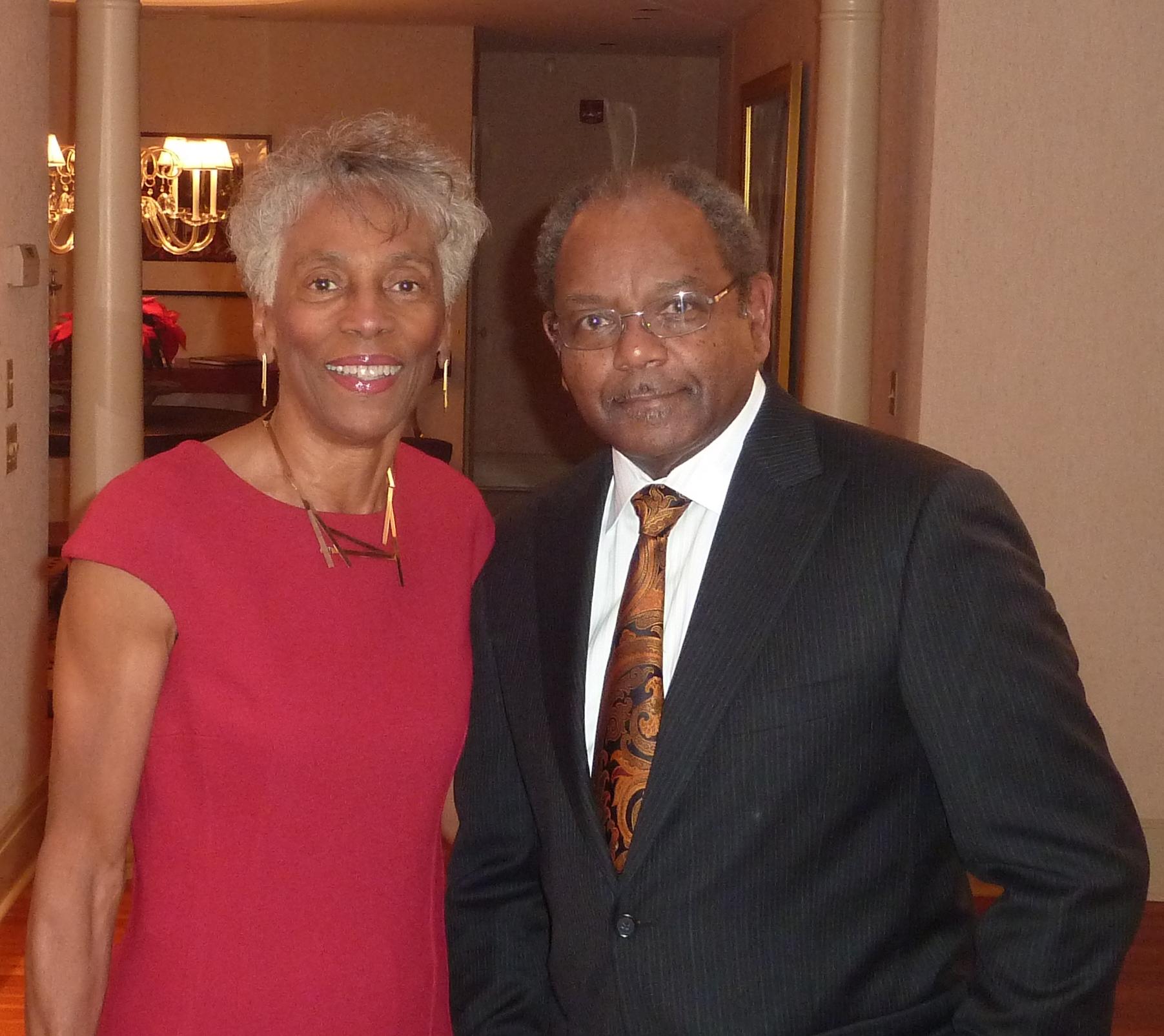 Sylvia and Eddie Brown