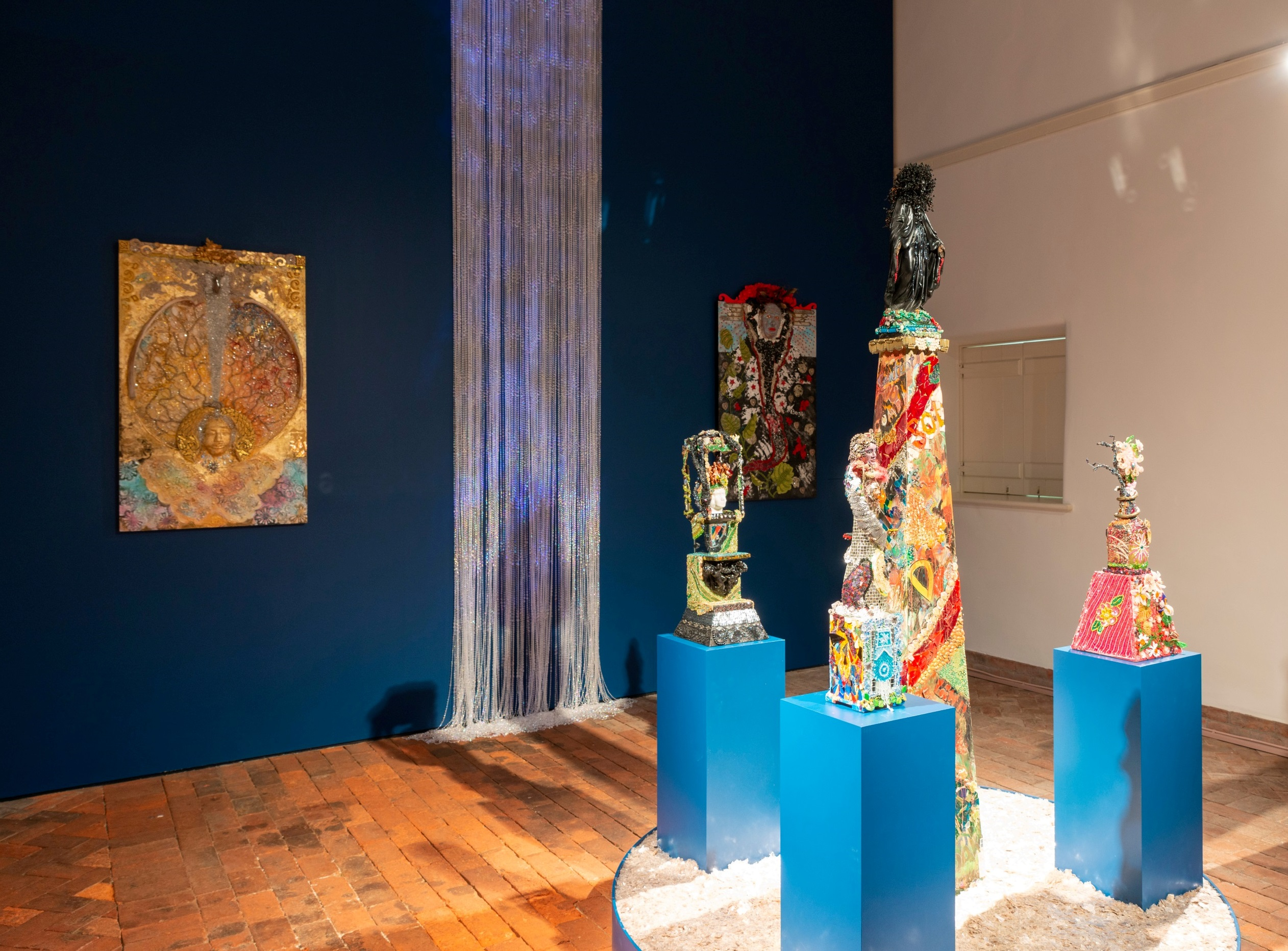 Oletha DeVane: Traces of the Spirit at the Baltimore Museum of Art, May 2019. Photo by Mitro Hood.