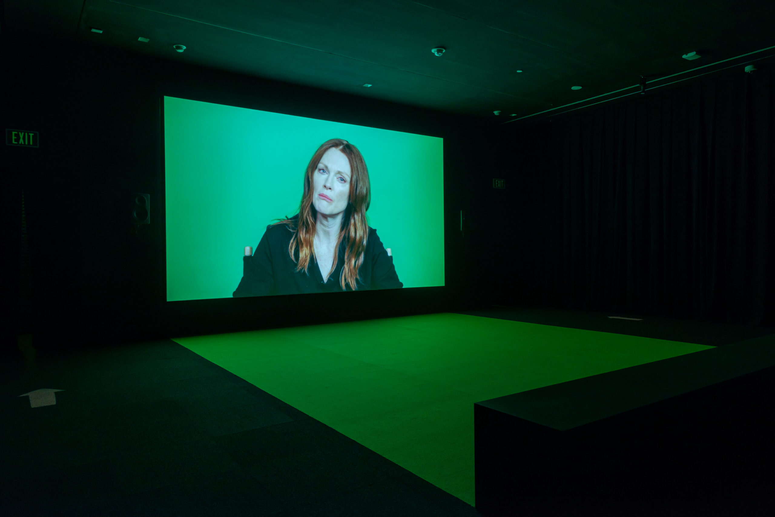 Candice Breitz. Installation view of Love Story (2016) at the BMA. Commissioned by the National Gallery of Victoria, Outset Germany + Medienboard Berlin-Brandenburg. Courtesy of Kaufmann Repetto (New York) + Goodman Gallery (Johannesburg/London)