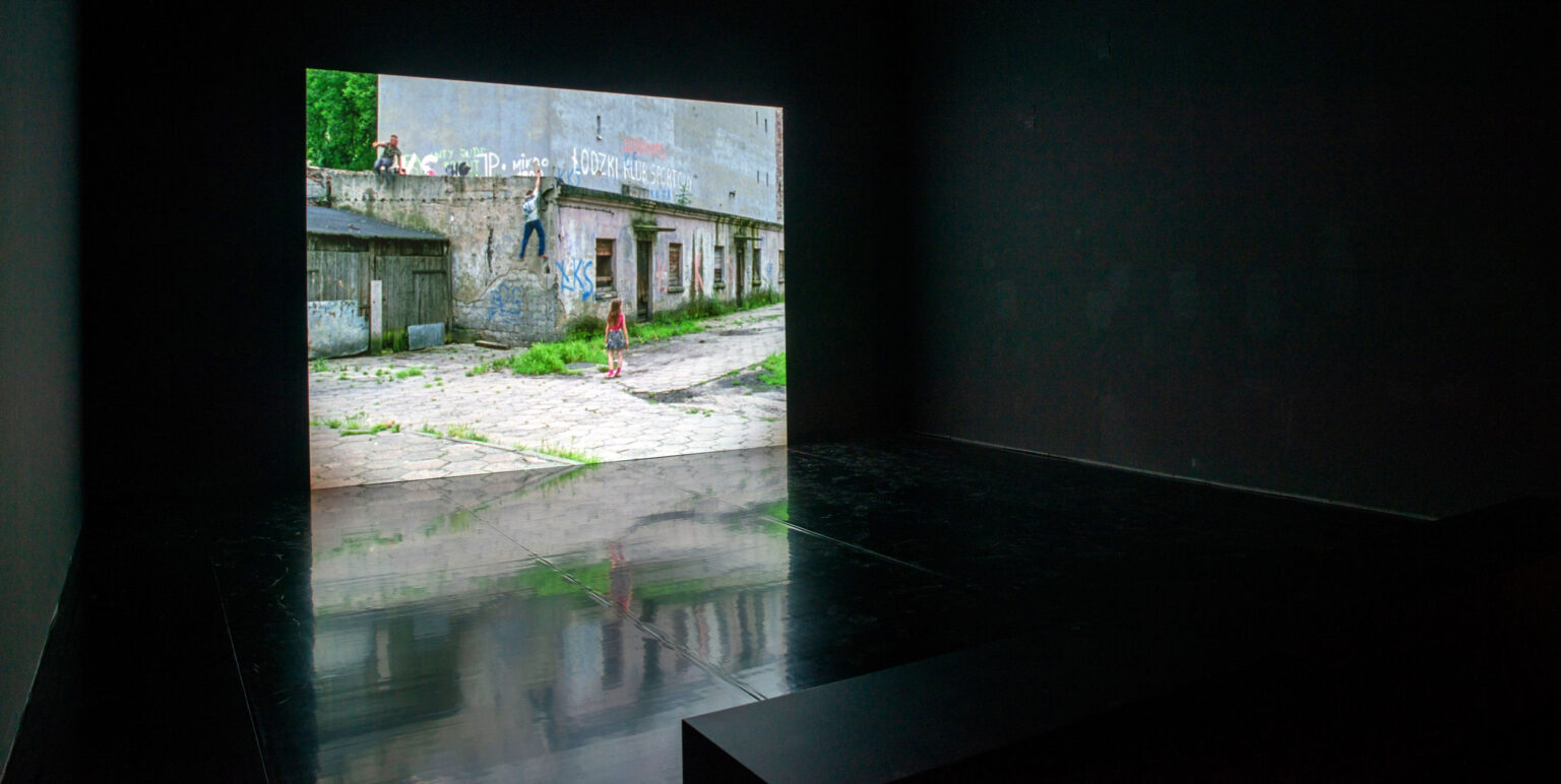 Image: Sharon Lockhart. Podwórka (Still). 2009. The Baltimore Museum of Art: Purchased as the gift of an Anonymous Donor, BMA 2017.64. © Sharon Lockhart