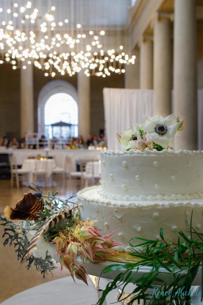 wedding cake in Fox Court