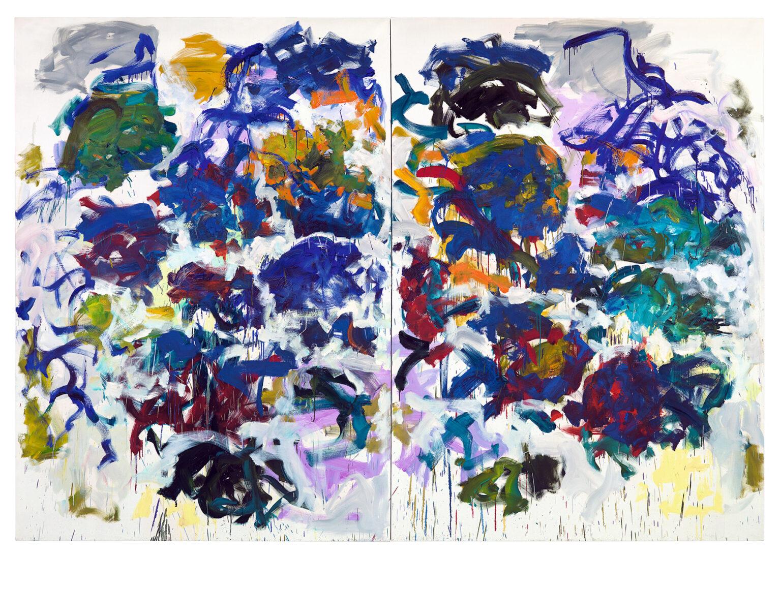 Joan Mitchell. Sunflowers. 1990-1991. Collection of John Cheim. © Estate of Joan Mitchell