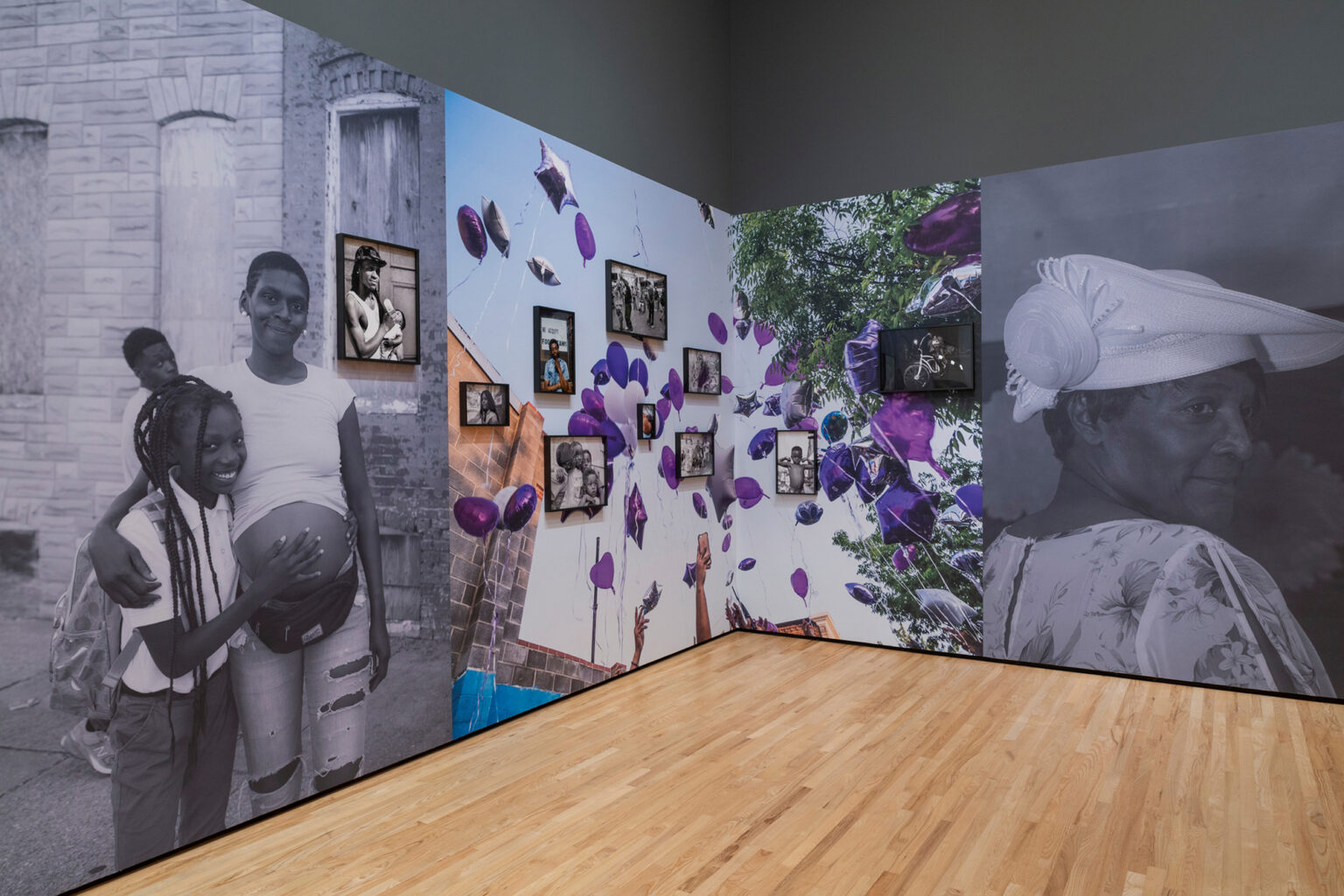 Installation view, SHAN Wallace: 410. Photo by Mitro Hood.