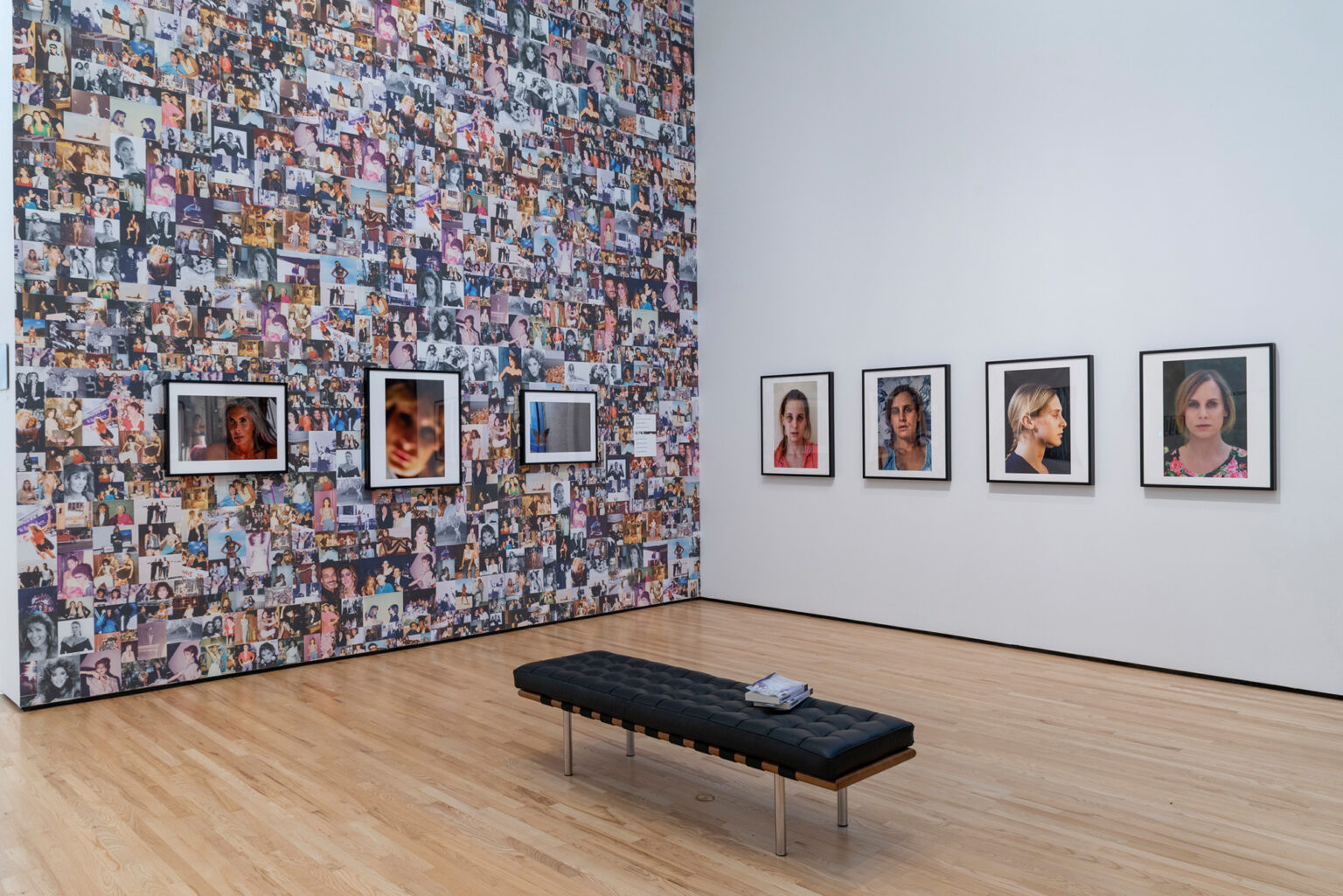 Installation view, Zackary Drucker: Icons. Photo by Mitro Hood