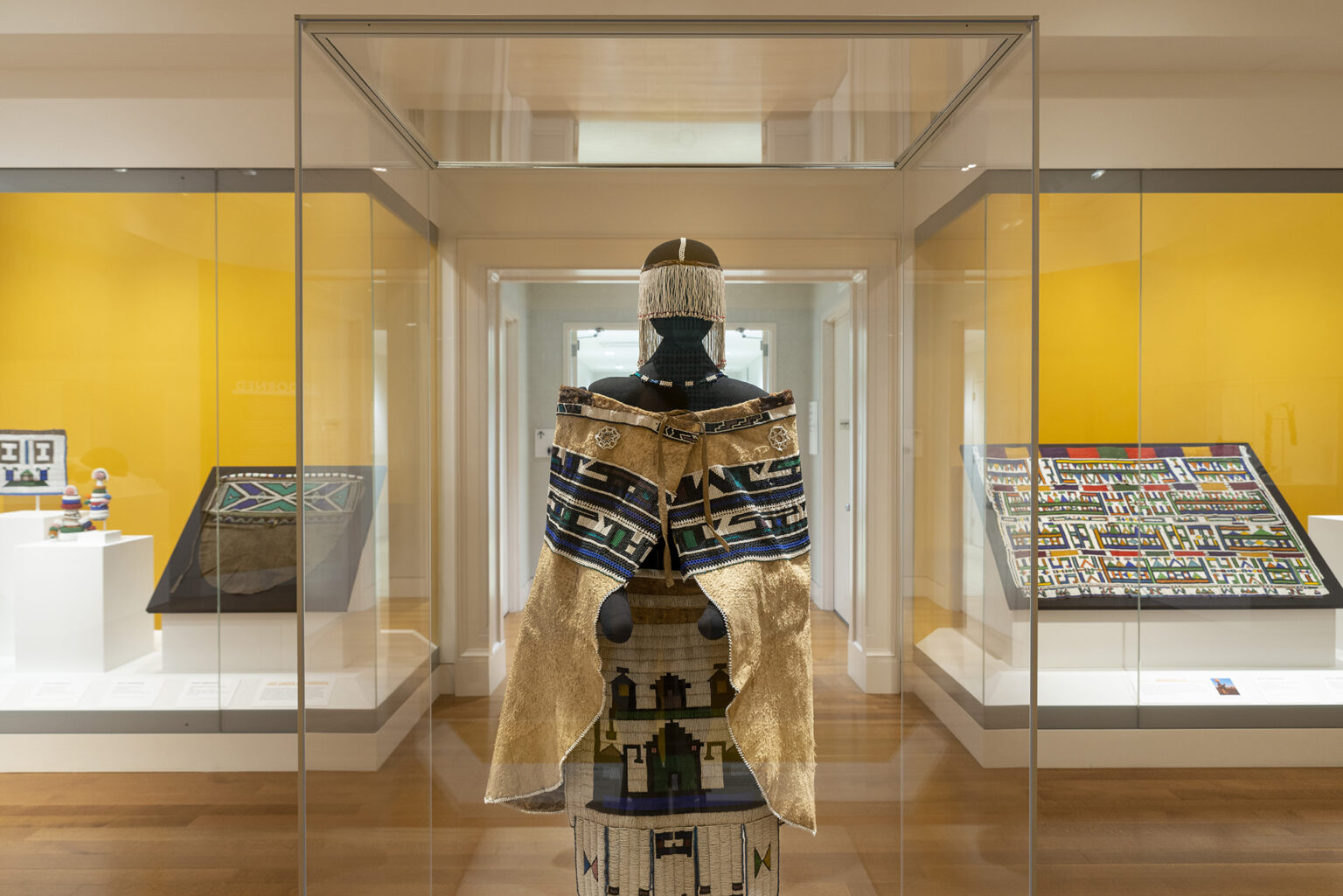 Image: Installation view, Adorned: African Women & the Art of Identity. Photo by Mitro Hood.