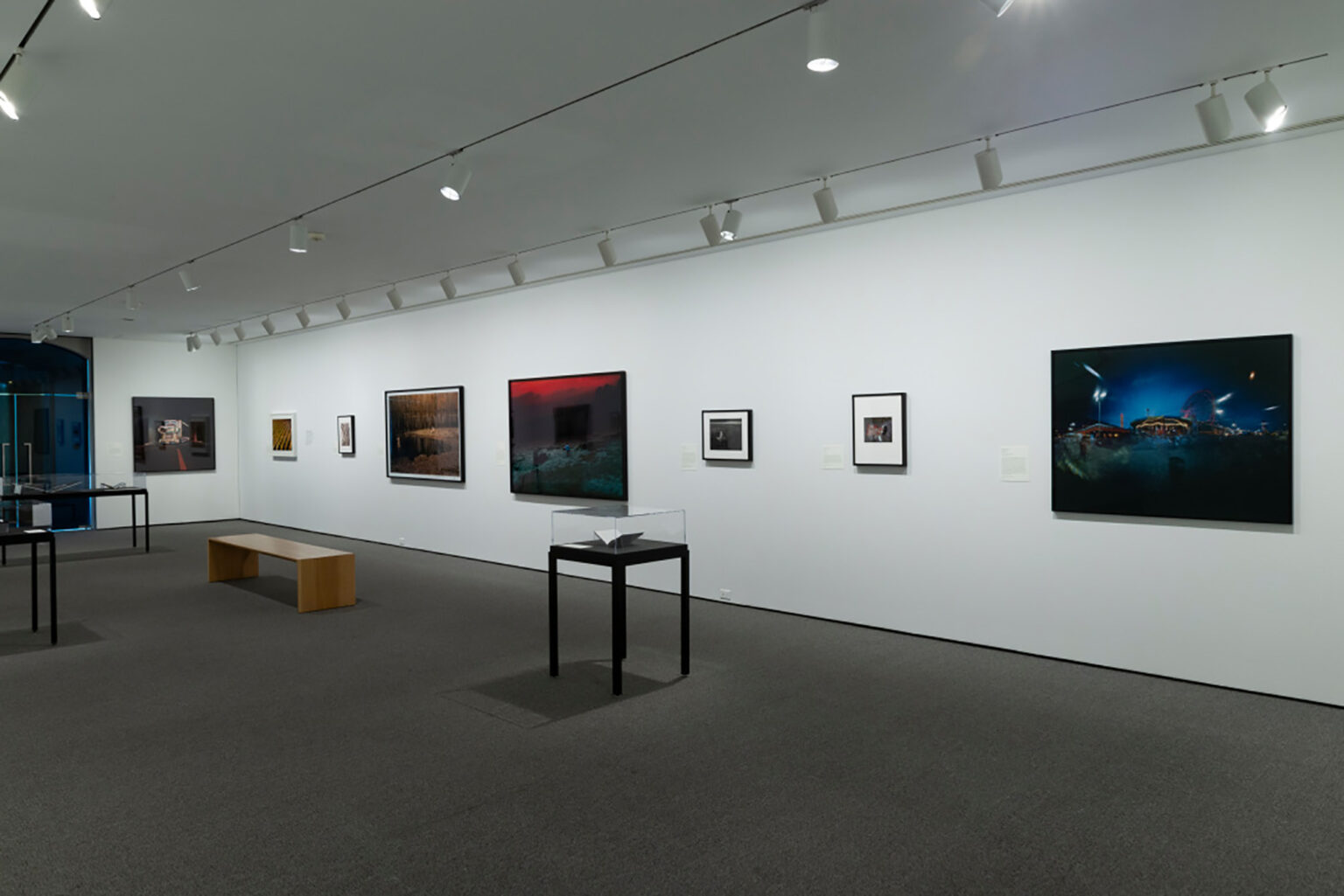 Installation view, Time Frames: Contemporary East Asian Photography. Photo by Mitro Hood