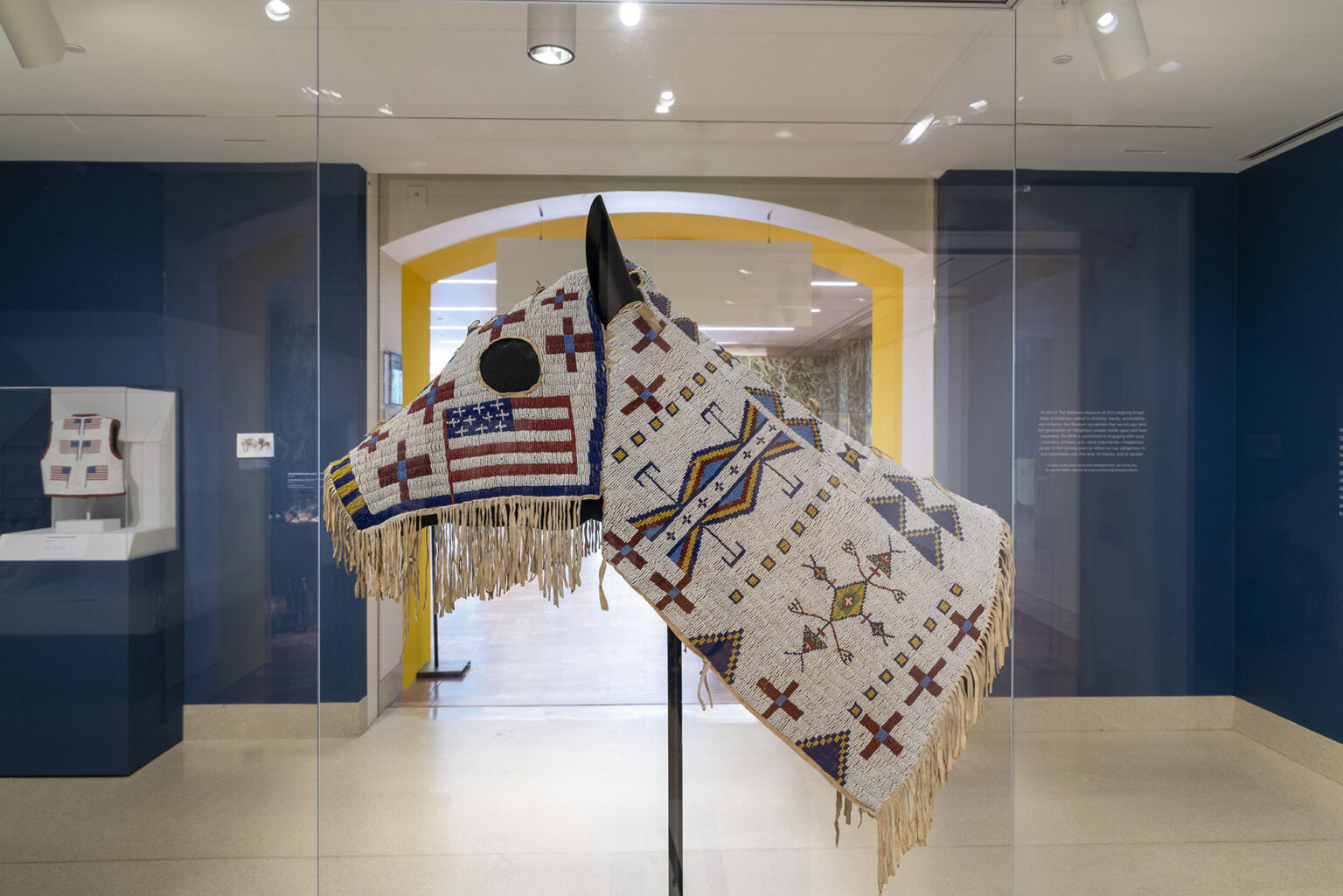 Image: Artist unidentified. Horse Mask. 1900. Eugene and Clare Thaw Collection, Fenimore Art Museum, Cooperstown, NY