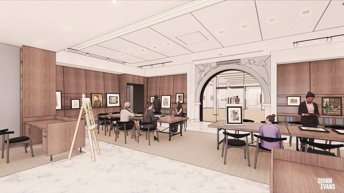 Rendering of PDP Study Center