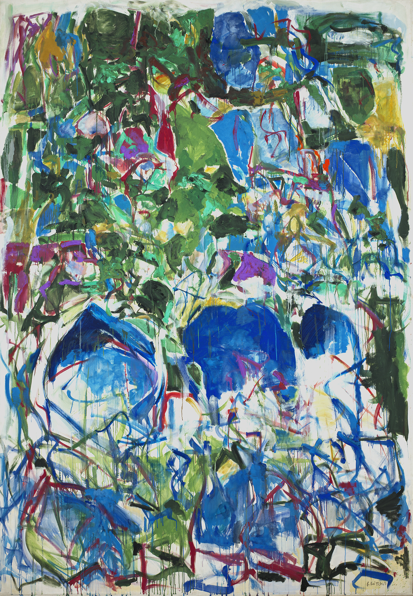 Joan Mitchell. My Landscape II. 1967. Smithsonian American Art Museum, Gift of Mr. and Mrs. David K. Anderson, Martha Jackson Memorial Collection © Estate of Joan Mitchell.
