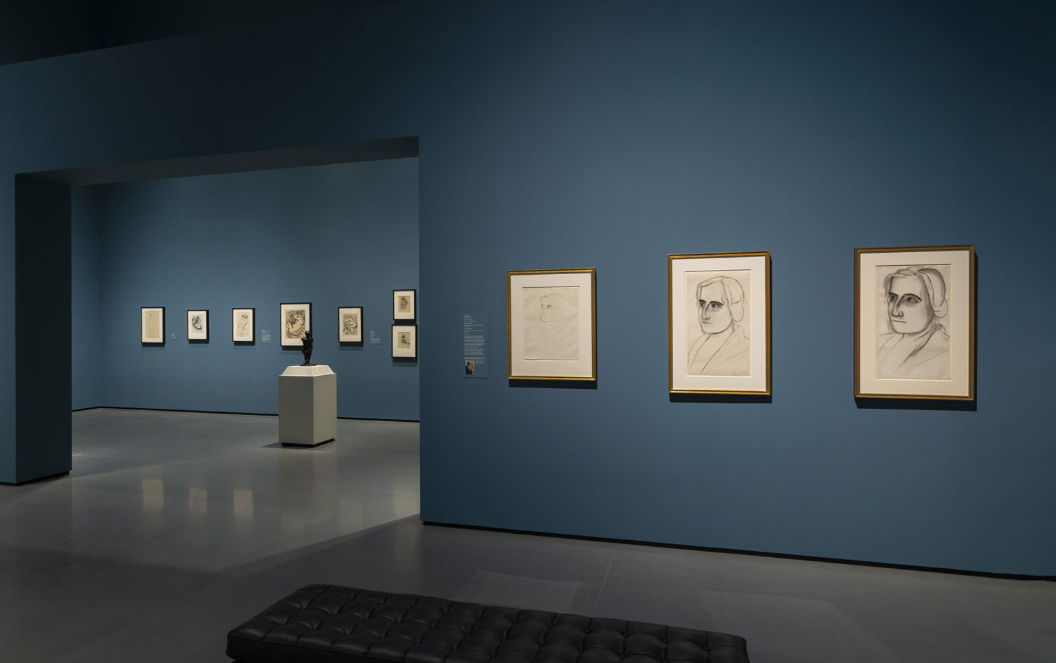 Installation view, A Modern Influence: Henri Matisse, Etta Cone, and Baltimore