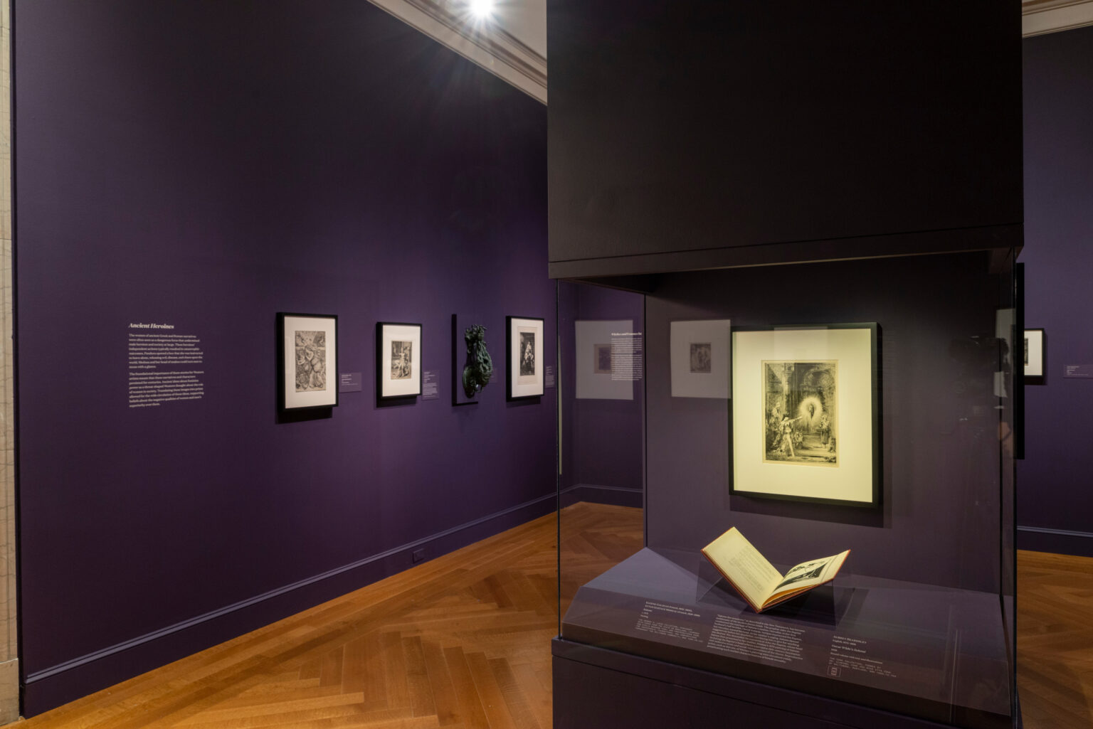 Installation view, Women Behaving Badly: 400 Years of Power & Protest