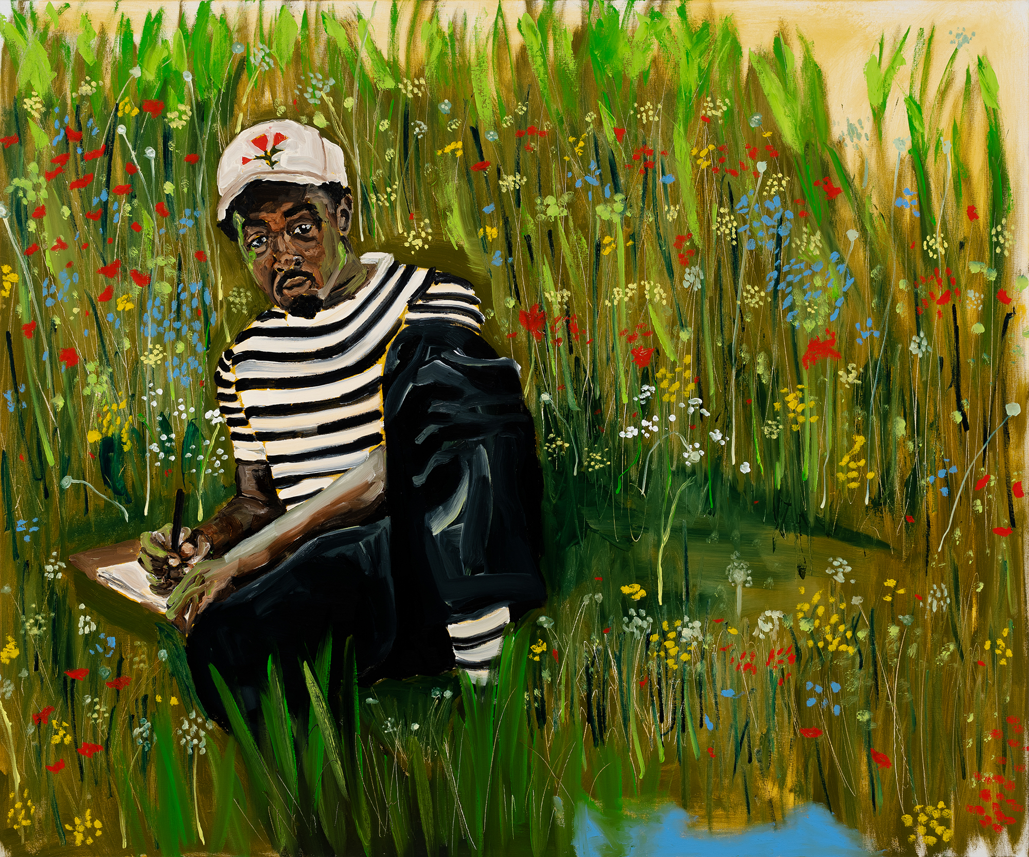 Jerrell Gibbs. For Thomas. 2021. The Baltimore Museum of Art: Purchase with exchange funds from the Pearlstone Family Fund and partial gift of The Andy Warhol Foundation for the Visual Arts, Inc. BMA 2021.159